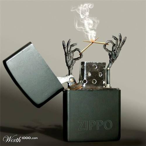 Nguyên nhân và cách xử lý lửa Zippo cháy không đều